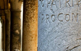 Sotto il porticato di Santa Maria Maggiore di Fabiano Venturelli (Crema)
