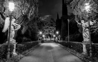 Tiziano Sclavi sogna Villa Cortine di Guido Valdata (Milano, MI)