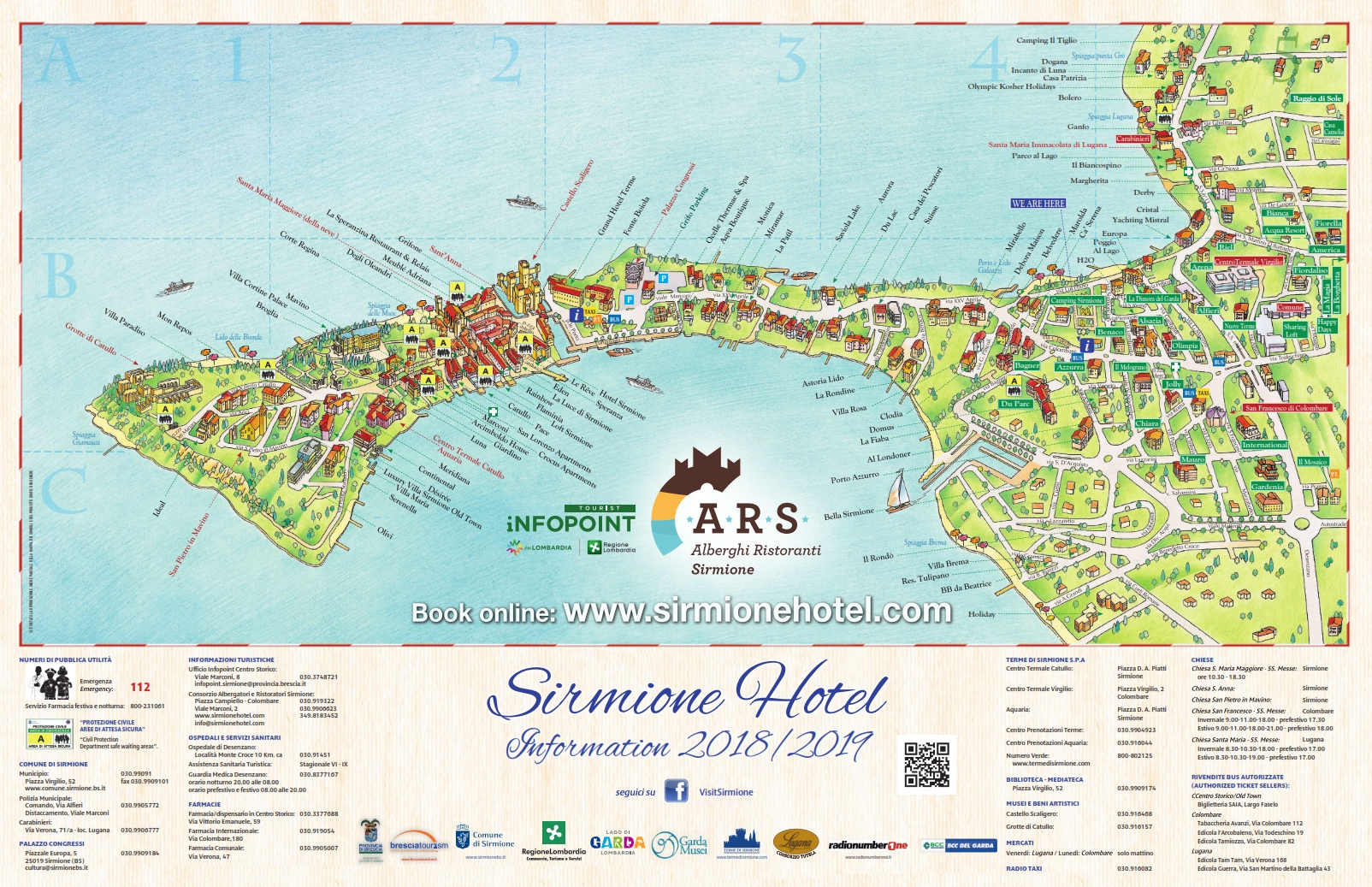 Map Hotel Sirmione | List Hotels Sirmione | Lake Garda on city map, statue map, cafeteria map, resort map, in a map, guam map, airstrip map,