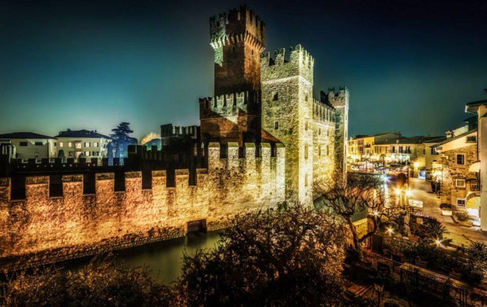 Nightshot-castello-di-Sirmione